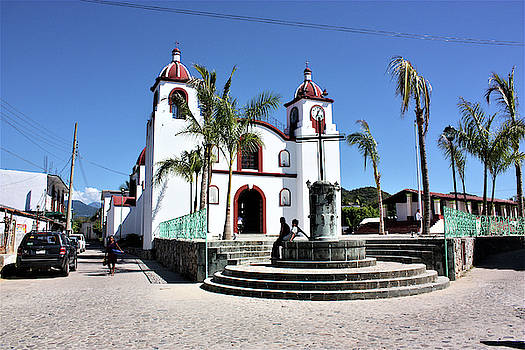 Church in Huatulco, Mexico   by Deborah Kinisky