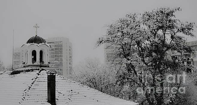 Church in snow by Yavor Mihaylov