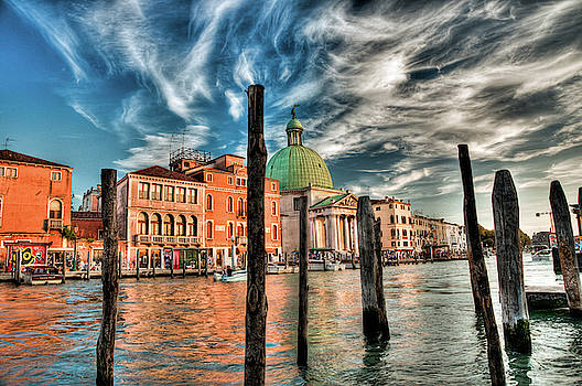 Church of San Simeone Piccolo, Venice by Ian Robert Knight