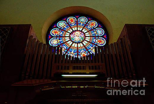 Church Pipe Organ by Debby Pueschel