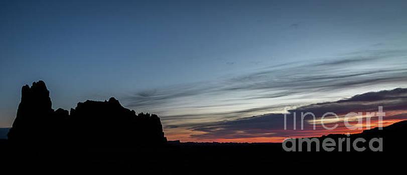Church Rock Sunrise by Jon Vemo