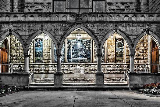 Sharon Popek - Church Walkway