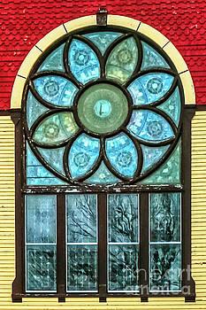Church Window by Mim White