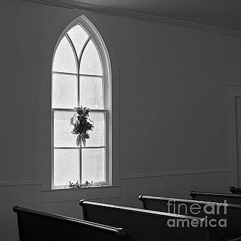 Church Window by Patrick M Lynch