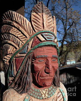 Cigar Store Indian  by Edward Fielding