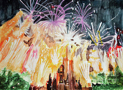 Cinderellas Fireworks by Lori Moon