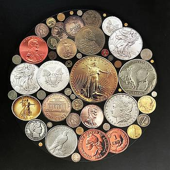 Circle of Coins by Douglas Fromm