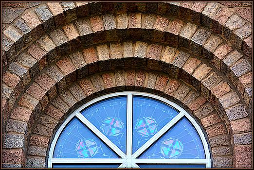 Circular Church Window by Constance Lowery