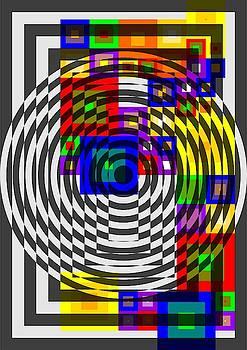 Circular Colour Fusion  by Arttantra
