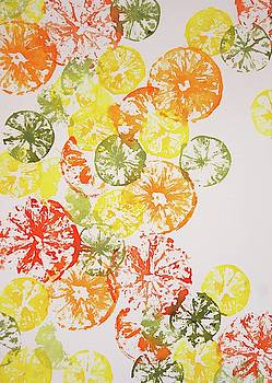 Citrus Collage by Beth Fontenot