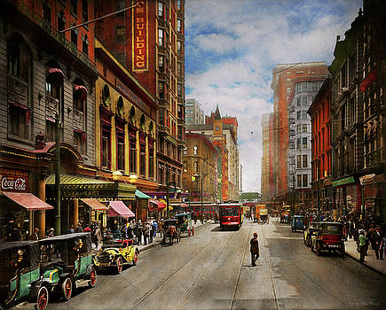 Mike Savad - City - Chicago IL - The Brevoort Hotel 1910