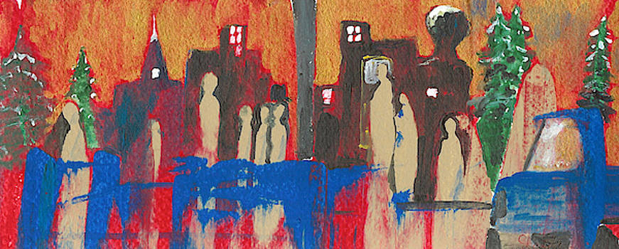 City Lights by Christine Lathrop