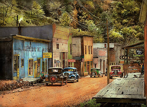 Mike Savad - City - Mogollon NM - Before the ghosts 1940