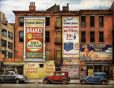 Mike Savad - City - New York NY - Elite lunch bar 1938