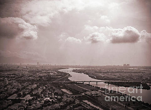 Asia Visions Photography - City of Danang from the Air