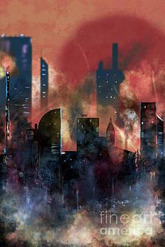 Benjamin Harte - City skline at night