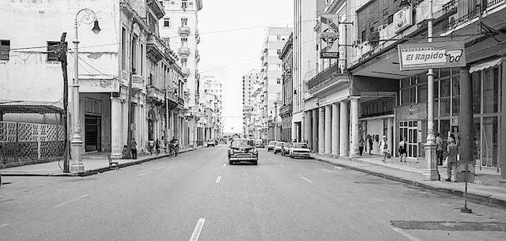 City Street, Havana by Mark Duehmig