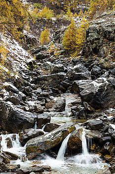 Claree river - 3 - French Alps by Paul MAURICE