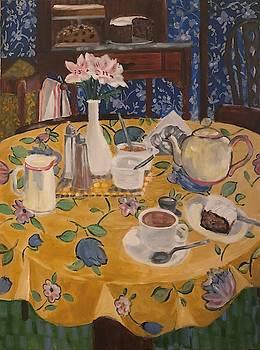 Clarinda's Tea Shoppe by Fran Steinmark