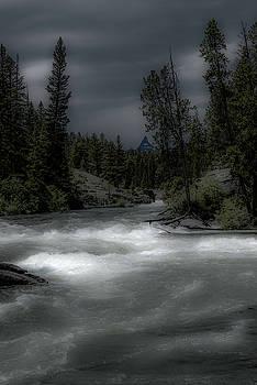 Clark's Fork River in Spring by Barbara Hayton