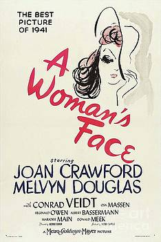 Esoterica Art Agency - Classic Movie Poster - A Womans Face