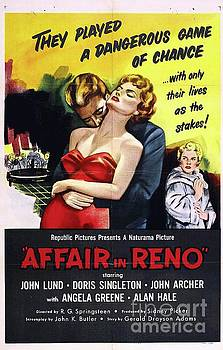 Esoterica Art Agency - Classic Movie Poster - Affair in Reno