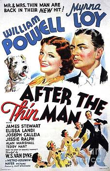 Esoterica Art Agency - Classic Movie Poster - After The Thin Man