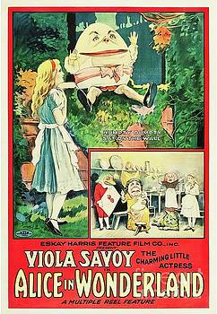 Esoterica Art Agency - Classic Movie Poster - Alice in Wonderland