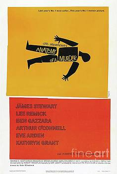 Esoterica Art Agency - Classic Movie Poster - Anatomy of a Murder
