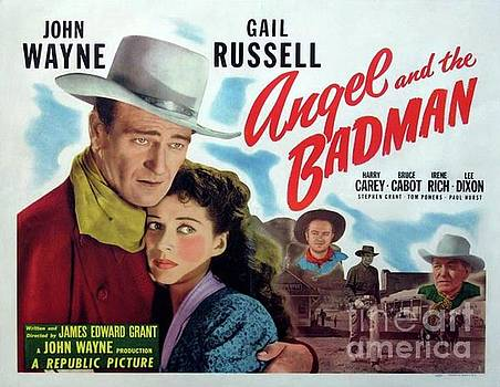 Esoterica Art Agency - Classic Movie Poster - Angel and the Badman