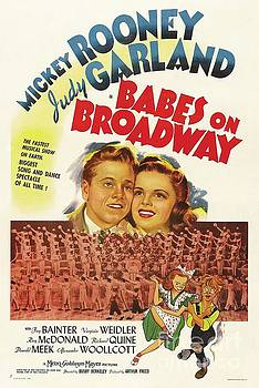 Esoterica Art Agency - Classic Movie Poster - Babes on Broadway