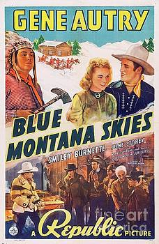 Esoterica Art Agency - Classic Movie Poster - Blue Montana Skies