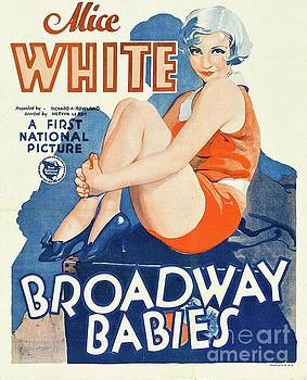 Esoterica Art Agency - Classic Movie Poster - Broadway Babies