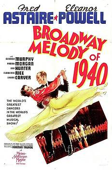 Esoterica Art Agency - Classic Movie Poster - Broadway Melody of 1940