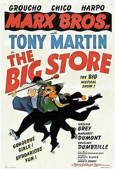 Esoterica Art Agency - Classic Movie Poster - The Big Store