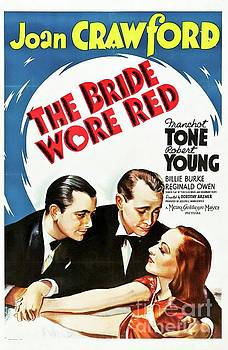 Esoterica Art Agency - Classic Movie Poster - The Bride Wore Red