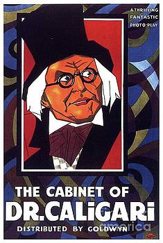 Esoterica Art Agency - Classic Movie Poster - The Cabinet of Dr. Caligari