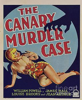 Esoterica Art Agency - Classic Movie Poster - The Canary Murder Case