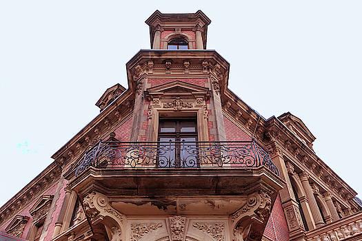 ReDi Fotografie - Classicist red balcony