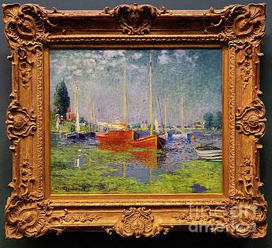 Wayne Moran - Claude Monet Argenteuil lorangerie Paris France