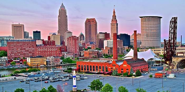 Frozen in Time Fine Art Photography - CLE is Lookin Good