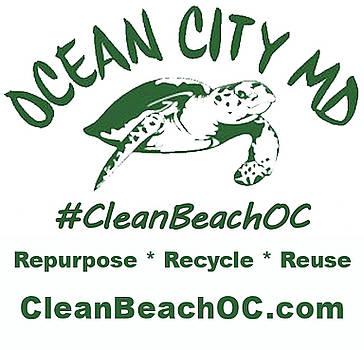 CleanBeachOC Poster by Robert Banach
