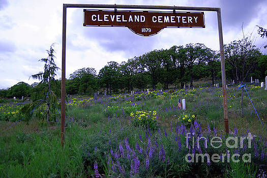 Cleveland Cemetery   by Jeff Swan