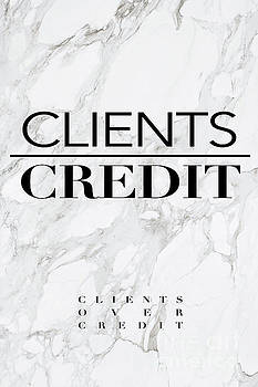 Clients Over Credit by Shop Aethetiks