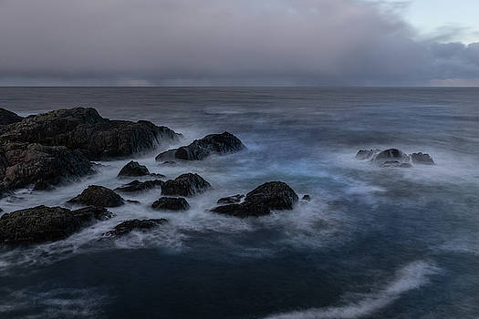 Cliff In Storm by Kai Mueller