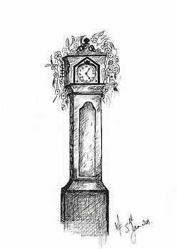 Clock by Martina Fagan