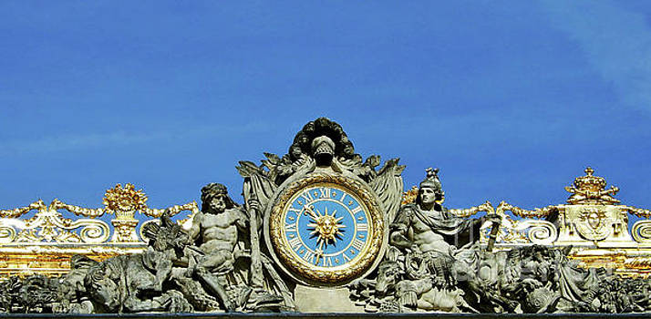 Clock of The Palace Courtyard by Suzette Kallen