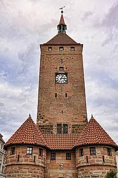 Clock tower in Nuremberg  by Tatiana Travelways
