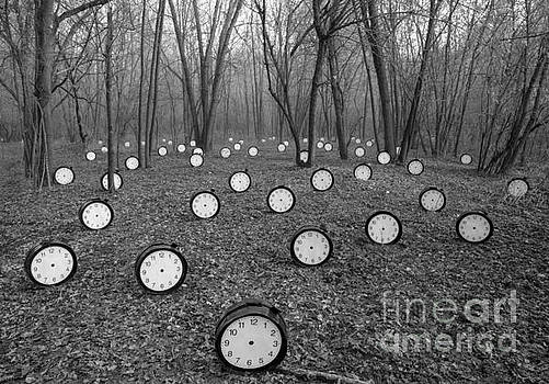 Clocks without Hands with Forest by Roberto Agagliate