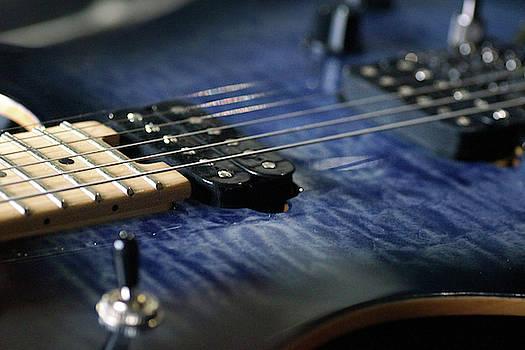 Mike Murdock - Close-Up Blue Guitar